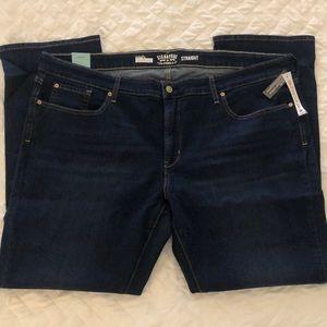 NWT Signature Levi Strauss Jeans Size 26W M